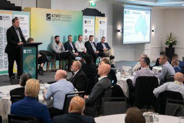 Mike Baker, managing director, Baker Refrigeration presents at ATMO Australia 2019 in Melbourne.
