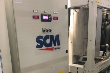 SCM Frigo's transcritical CO2 system installed at a cold storage facility in the Canary Islands