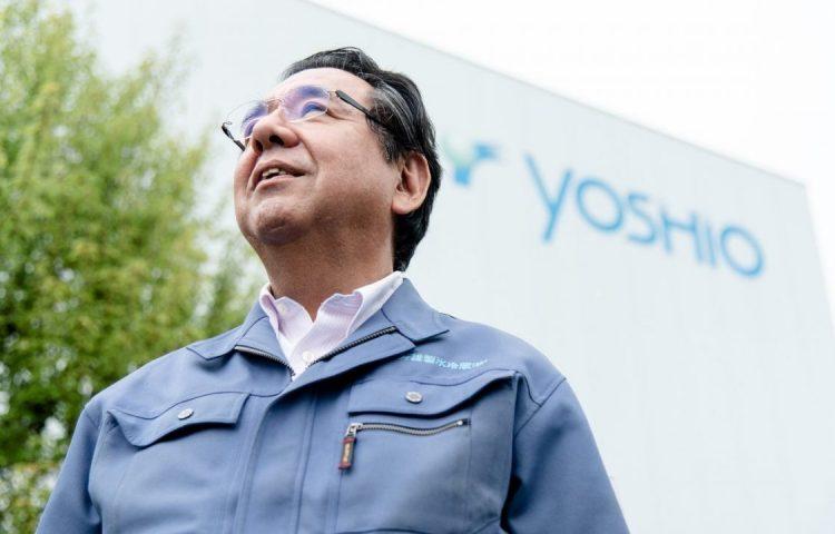 Shigekatsu Koganemaru, president at Japanese CO2 cold storageYoshio Ice Manufacturing & Refrigeration