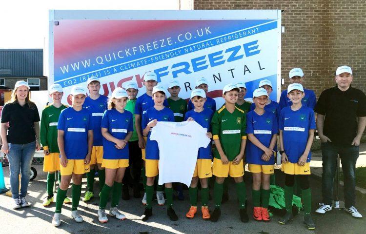 Greencold CO2 trailer Quickfreeze