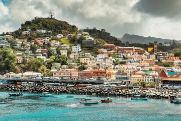 St. Georges, Grenada. Credit: Skybluesrich, © 2019