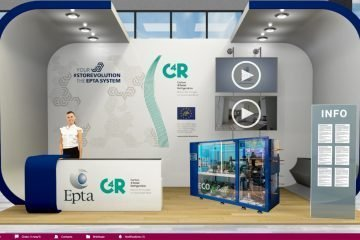 Epta's booth at the Virtual Trade Show