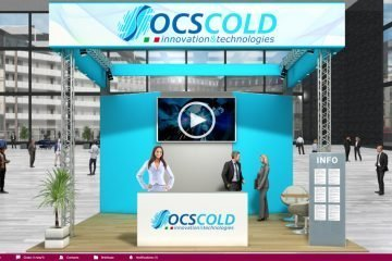 OCS COld booth at the Virtual Trade Show