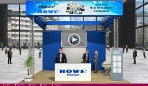 Howe booth at Virtual Trade Show