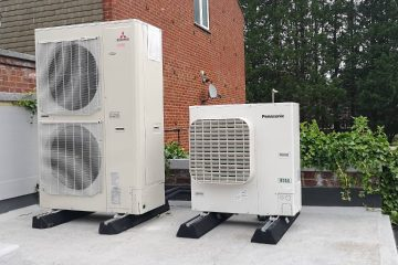 Panasonic CO2 (R744) condensing unit installed at Domino's Pizza
