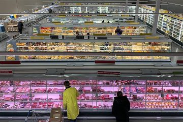 Metro store in Orenburg, Russia, with CO2 refrigeration.
