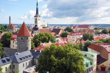 The old town of Estonia's capital city, Tallinn. Credit: © Susan Peterson/ 123RF.com