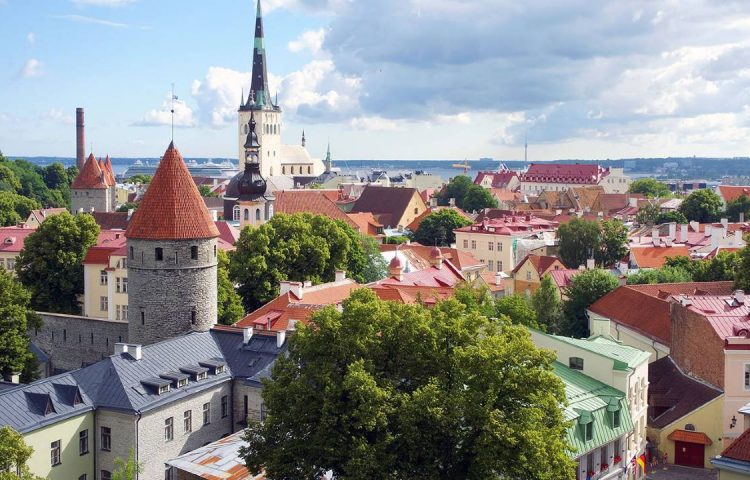 The old town of Estonia's capital city, Tallinn. Credit: © Susan Peterson/ 123RF.com