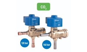 Castel CO2 solenoid valves.