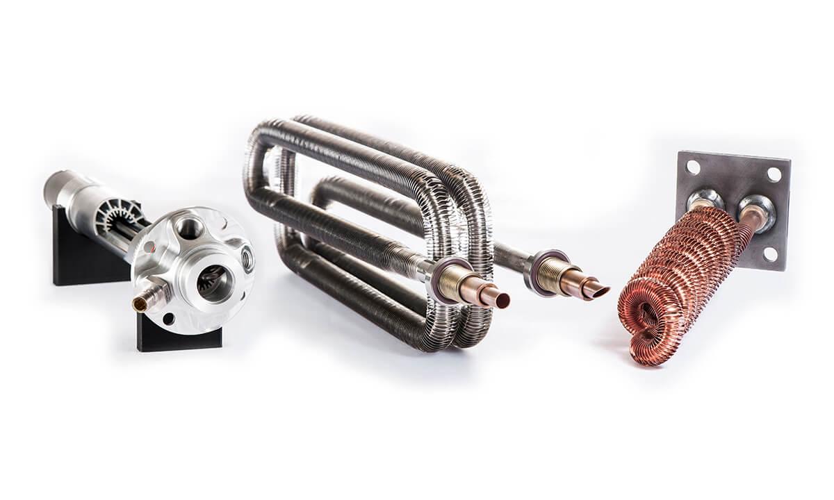 Wieland customized heat exchangers
