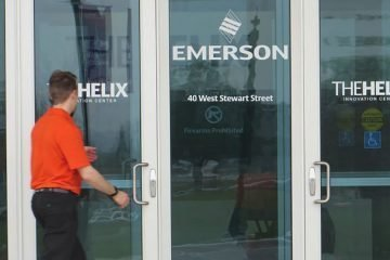 Emerson opens new R&R center in Ohio