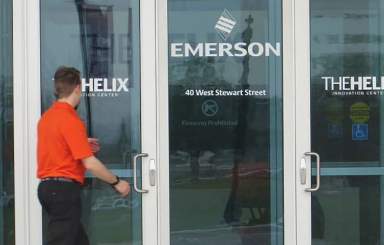 Emerson opens new R&R center in Ohio