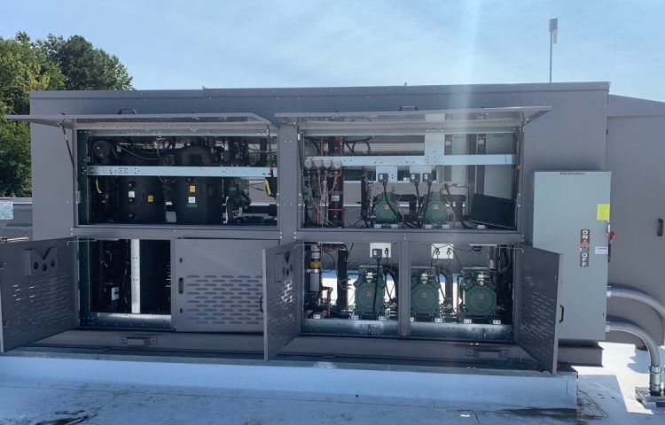 Transcritical CO2 rack with FTE technology installed in the U.S.