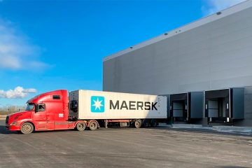 Maersk CO2 cold storage in Russia