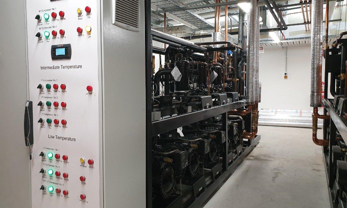 Transcritical CO2 system at Michael's SUPA IGA in Keysborough, Victoria.