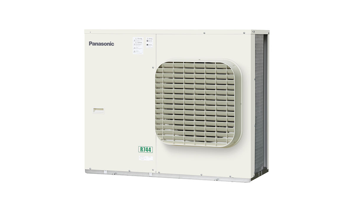 Panasonic's 4HP outdoor CO2 condensing unit