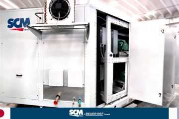 SCM Frigo transcritical CO2 system Image source: SCM Frigo on Linkedin