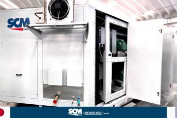 SCM Frigo transcritical CO2 system