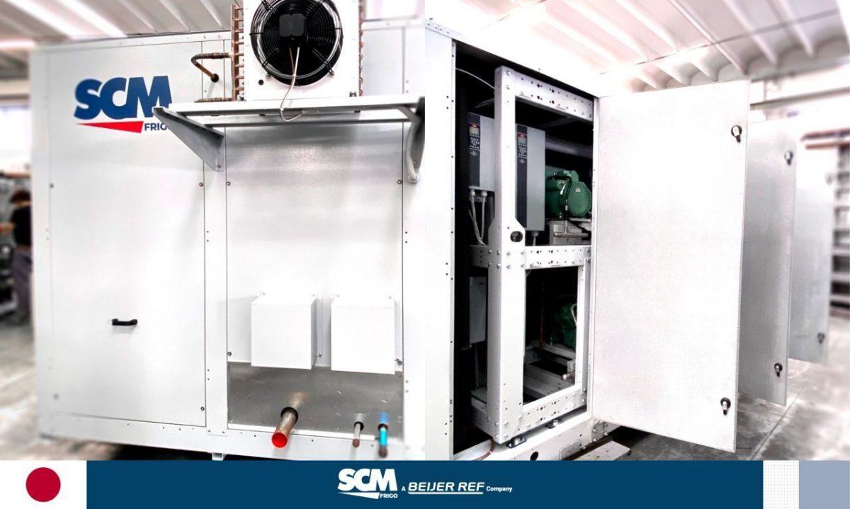 SCM Frigo transcritical CO2 system