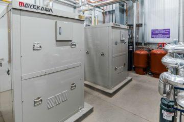 Mayekawa's CO2 heat pumps at Silver Oak Cellars' winery in Healdsburg, Calif.