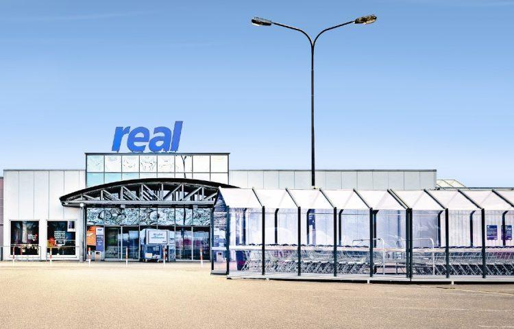 REAL Market, Ingelheim, Germany.