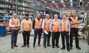SCM REF Australia Core Team, Left to Right: Wayne Ferguson (MD), Inderpal Saund (Sales Manager), Jason Pearce (Key Account Sales), Paul Campbell (Director of Operations), Doug Herkess (Key Account Sales), John Lin (Key Account Support), John Morgan (Production Manager)