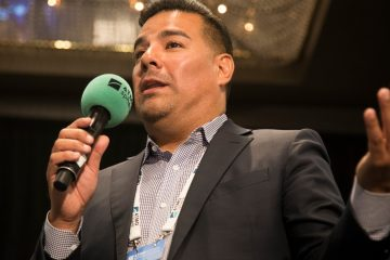 Ricardo Lara, California Insurance Commissioner, at ATMOsphere America in 2018, where he was named Person of the Year. He championed the California law establishing incentives for natural refrigerant systems.