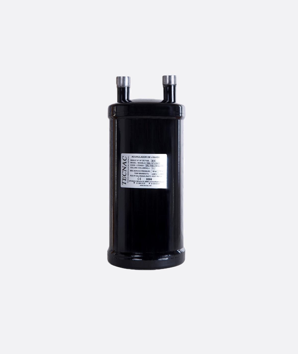 DAL-CO2 Tecnac suction accumulator