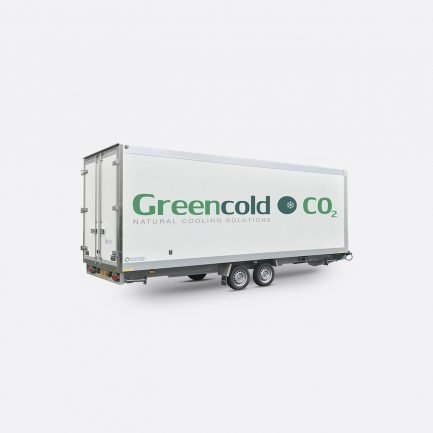 Greencold CO2 trailer Quickfreeze