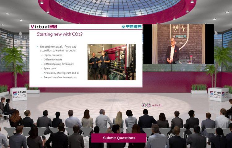 TEKO CO2 racks Live Webinar VTS 2021