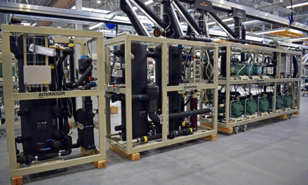 Advansor CO2 rack