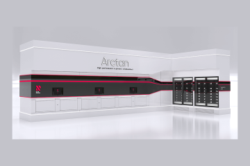 Arctan click-and-collect lockers