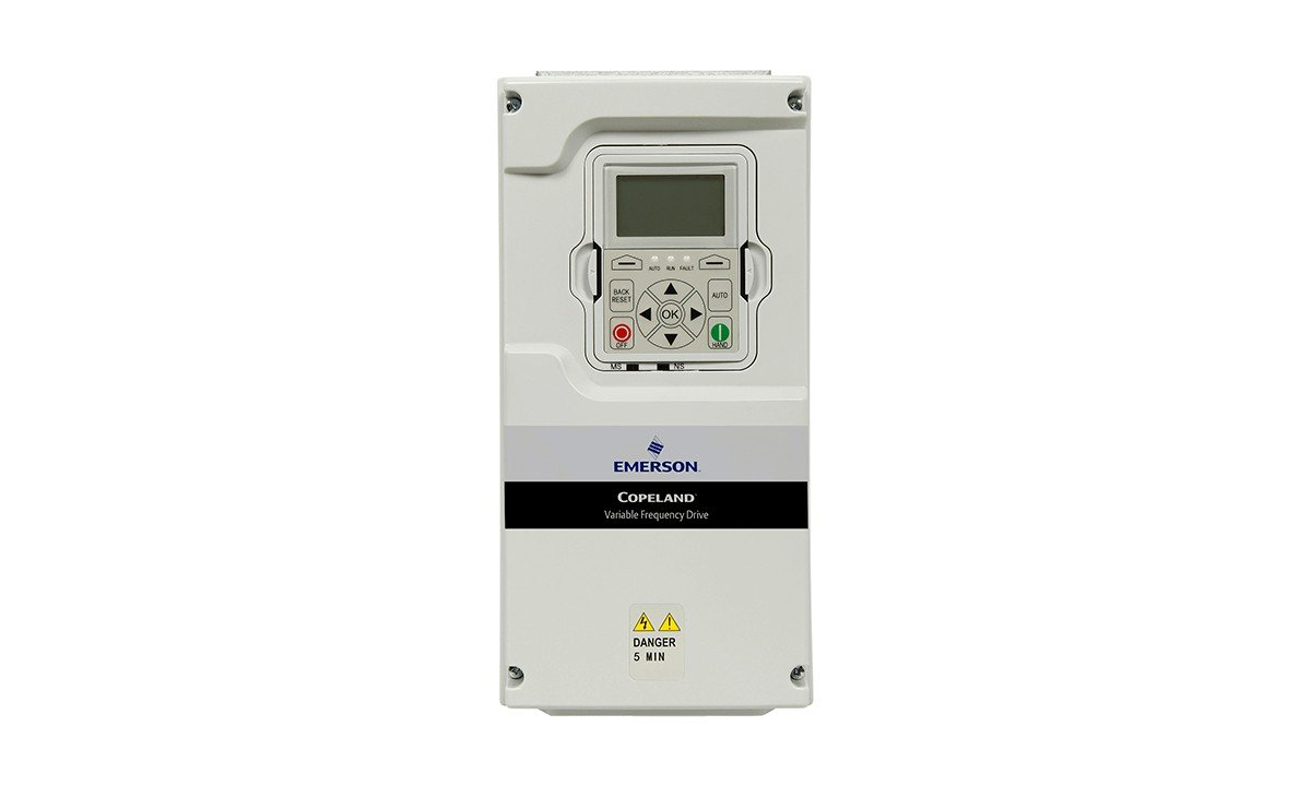 The Emerson Copeland EVH variable frequency drive VFD