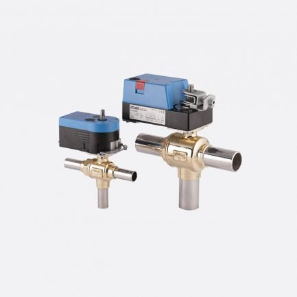 Castel motorized ball valves