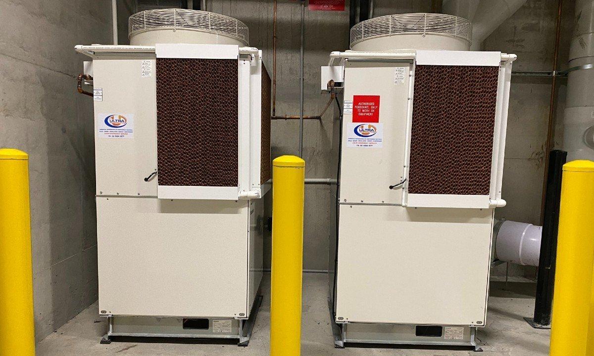 Panasonic 10HP transcritical CO2 condensing units