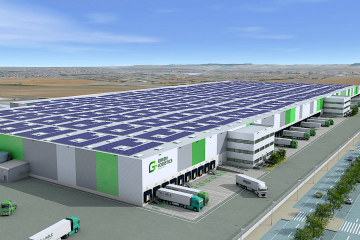 DIA warehouse at the Green Logistics park in Illescas