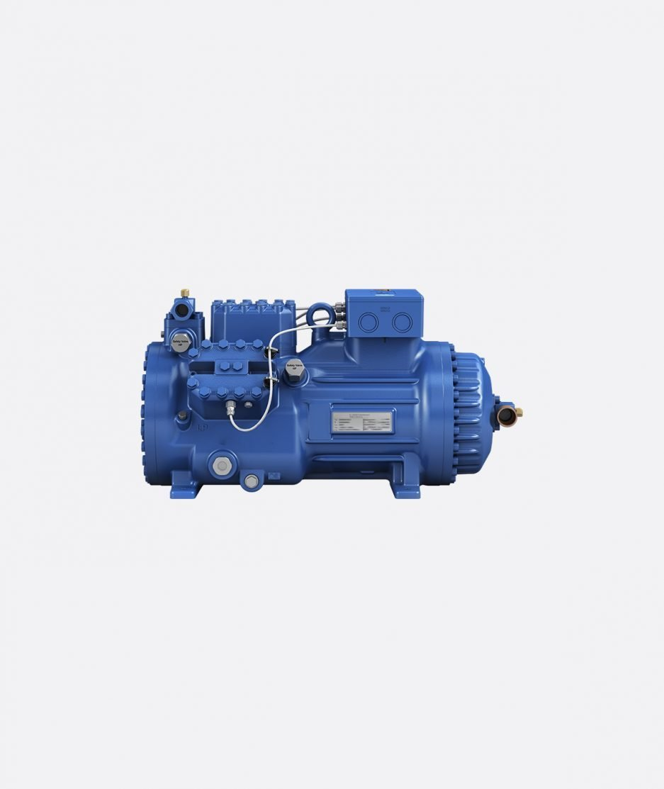 Bock compressor HGX46 CO2 T frontal