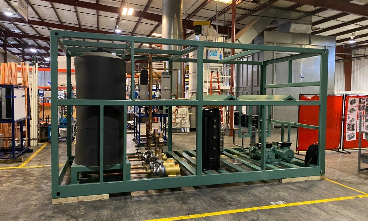 Pro Refrigeration's CO2 chiller