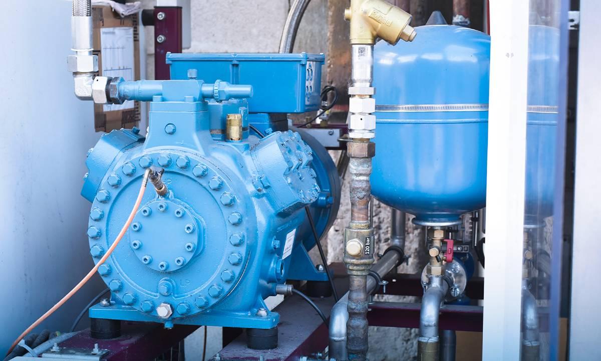 Frascold CO2 compressor