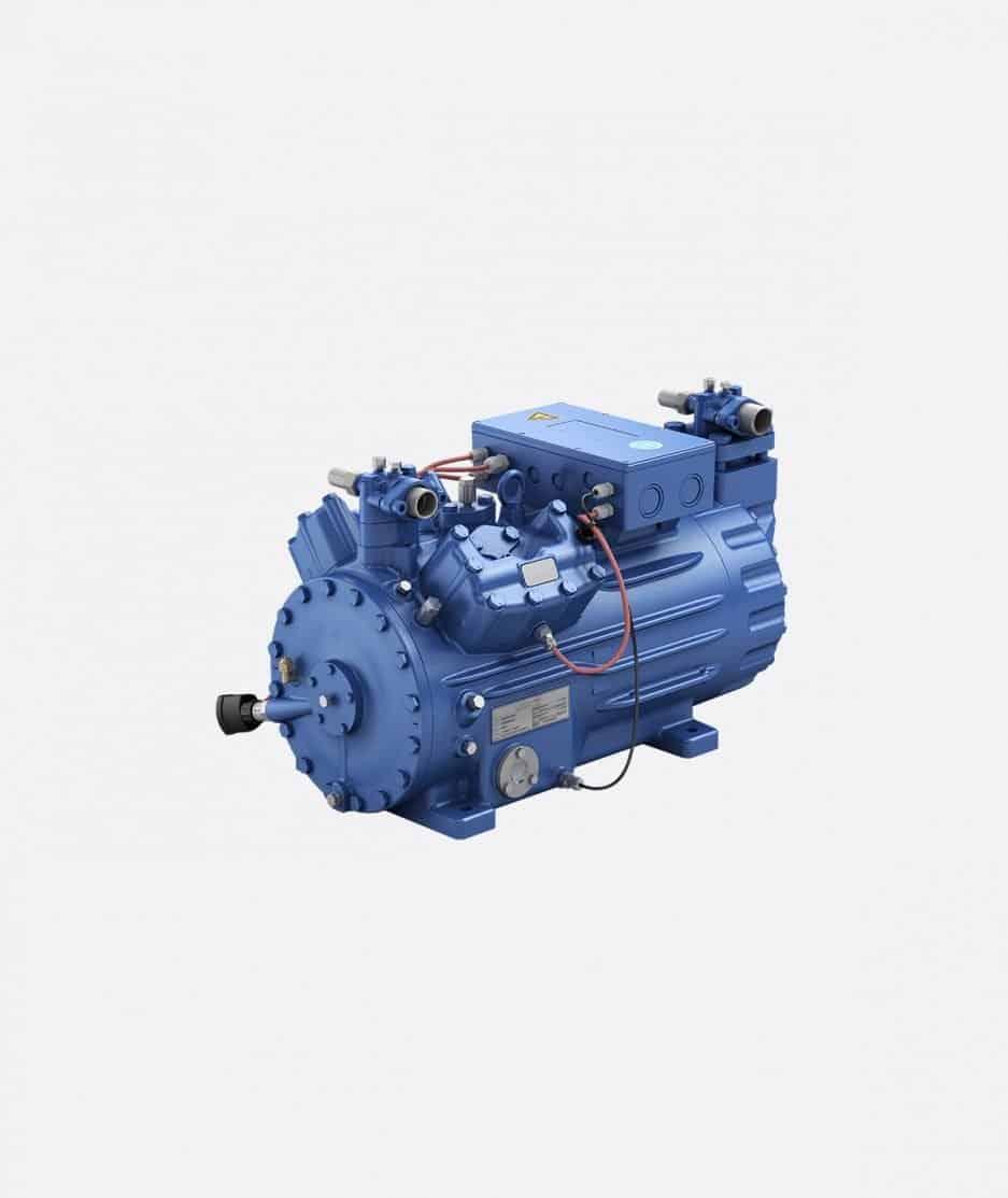 Bock HGX44e subcritical CO2 compressor