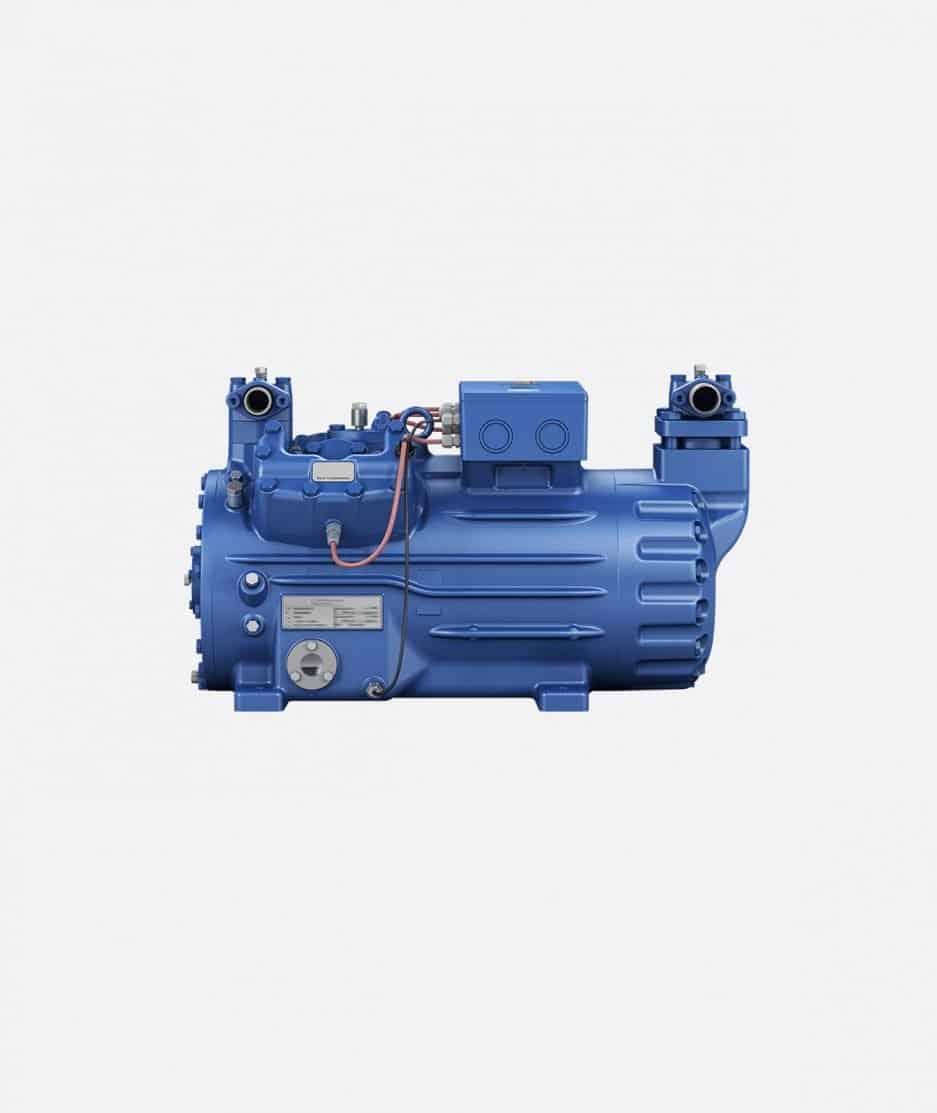 BOCK HGX44e CO2 subcritical compressor frontal