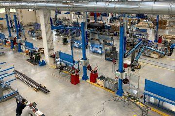 SCM Frigo's new factory
