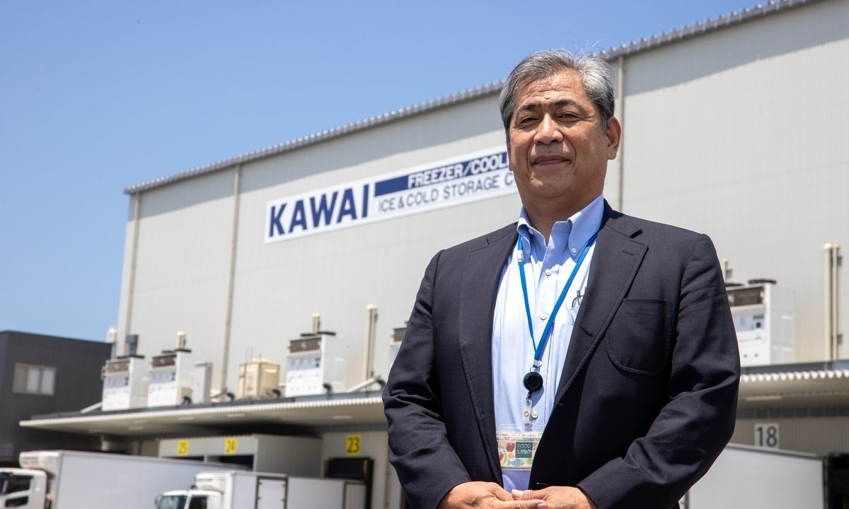 Yoshifumi Kawai, President and Representative Director, Kawai Ice & Cold Storage