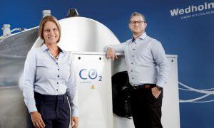 Wedholms CO2 milk cooling